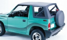 Soft top (prelata) Duratrail pentru Suzuki Vitara, negru