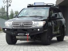 Bara fata fara bullbar pentru Toyota Land Cruiser J200 (2007-) modelul nou