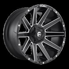 Janta aliaj negru mat D616 Contra- Fuel 20X9 ET 1 5×139,7/ 5X150