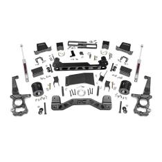Kit inaltare suspensie Rough Country, inaltare 15 cm pentru Ford F150 15′-prezent