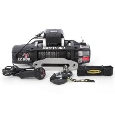 Troliu Smittybilt X20 GEN2 12000lbs (5443 kg) cablu sintetic, telecomanda wireless