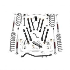 Kit inaltare Rough Country X-series, inaltare 10 cm pentru Jeep Wrangler TJ 97′-06′