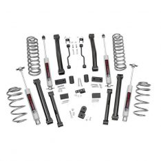 Kit inaltare suspensie Rough Country, inaltare de 10 cm pentru Jeep Grand Cherokee ZJ 93′-98′