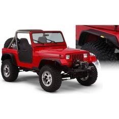 Overfendere Bushwacker Flat Style pentru Jeep Wrangler YJ 87′-96′