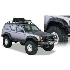 Overfendere Bushwacker decupate pentru Jeep Cherokee XJ 84′-01′