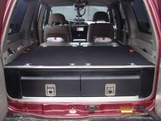 Ansamblu sertare depozitare Nissan Patrol Y61 si GU4
